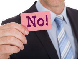 successful people say NO!